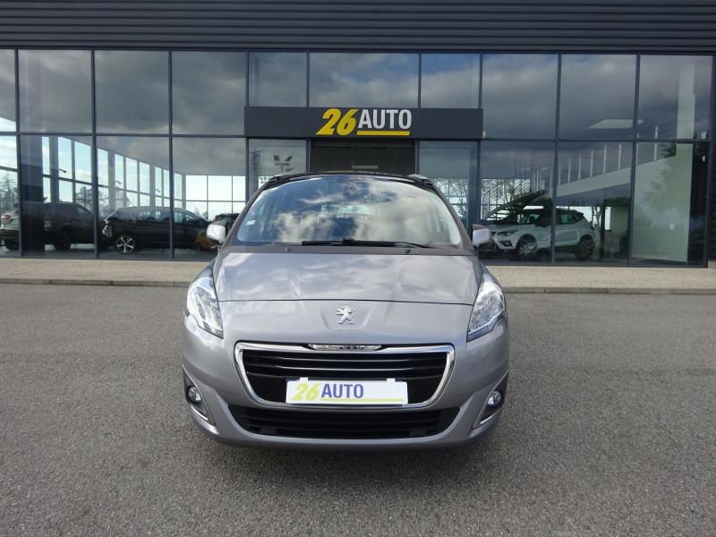 Peugeot 5008 1.6 BLUEHDI 120CH ALLURE S&S 7PL Diesel GRIS THORIUM Occasion à vendre