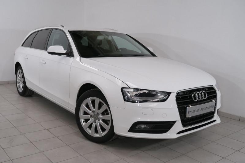 Audi A4 AVANT 2.0 TDI 150CH CLEAN DIESEL DPF AMBIENTE MULTITRONIC EURO6 Diesel BLANC Occasion à vendre