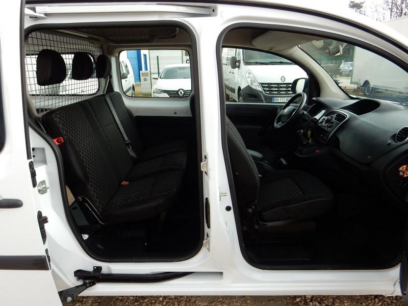 Photo 5 de l'offre de RENAULT KANGOO II 5 PLACES 1.5 DCI 90 ENERGY MAXI CABINE APPROFONDIE EXTRA R-LINK à 12490€ chez JML Auto