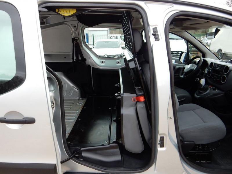 Photo 7 de l'offre de CITROEN BERLINGO 5 PLACES 1.6 HDI 90 L2  CABINE APPROFONDIE CONFORT à 12490€ chez JML Auto