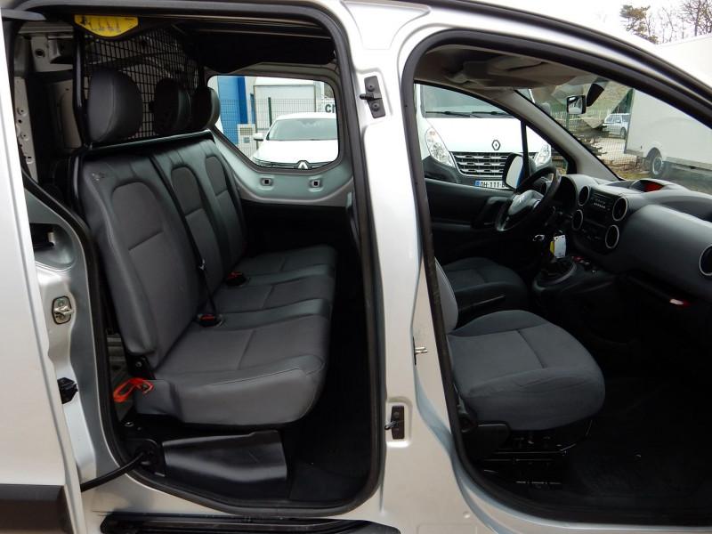 Photo 5 de l'offre de CITROEN BERLINGO 5 PLACES 1.6 HDI 90 L2  CABINE APPROFONDIE CONFORT à 12490€ chez JML Auto
