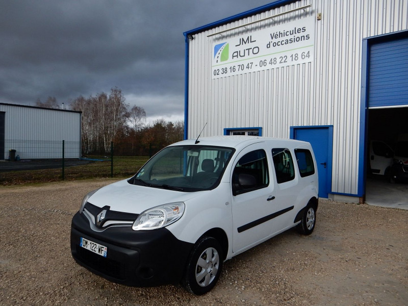 Renault KANGOO II 5 PLACES 1.5 DCI 90 ENERGY MAXI CABINE APPROFONDIE EXTRA R-LINK Diesel BLANC Occasion à vendre
