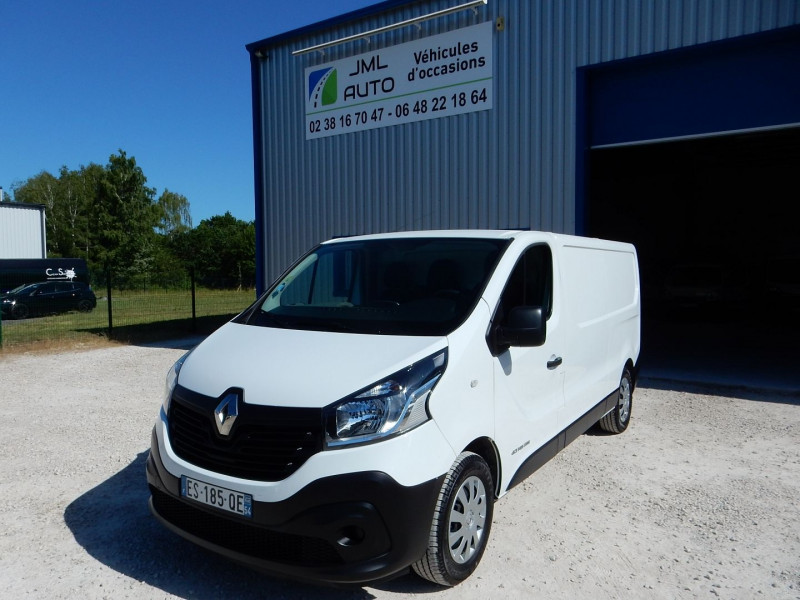 Renault TRAFIC III FG 145CV 1.6 DCI 145CH L2 H1 ENERGY GRAND CONFORT EURO6 Diesel BLANC Occasion à vendre