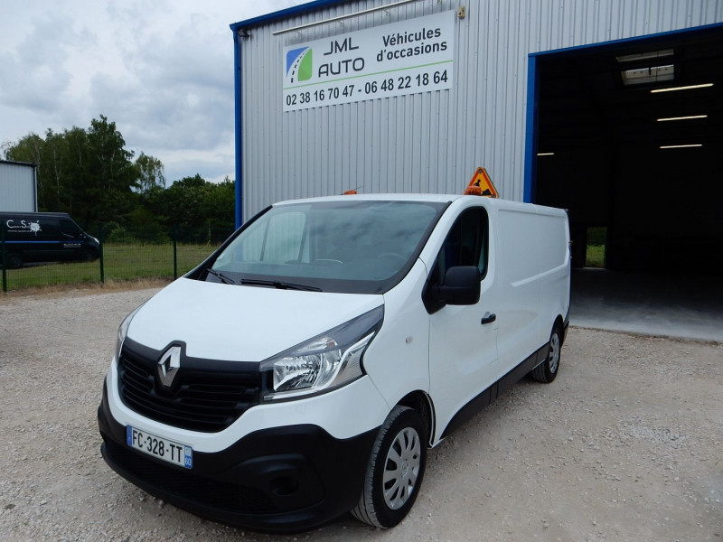Renault TRAFIC III FG L2H1 1200 1.6 DCI 125CH ENERGY GRAND CONFORT EURO6 Diesel BLANC Occasion à vendre