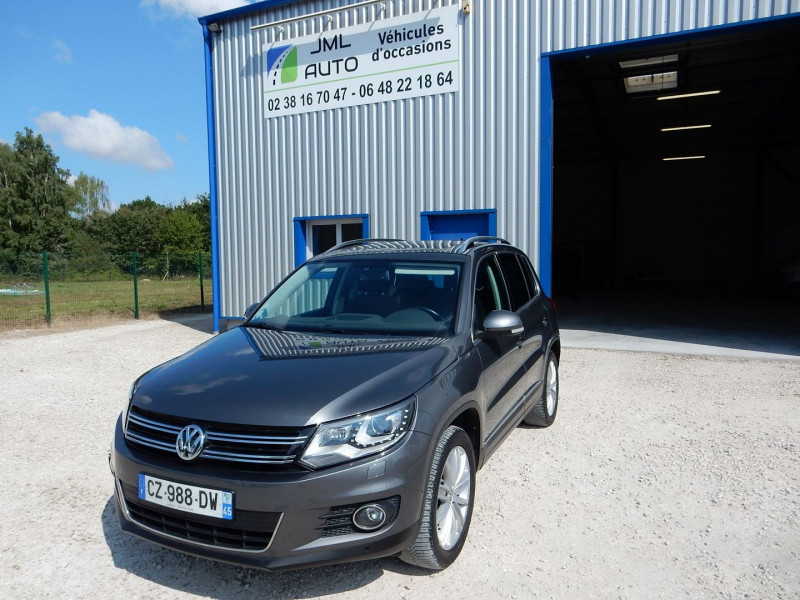 Volkswagen TIGUAN 2.0 TDI 177CH BLUEMOTION  SPORTLINE 4MOTION DSG7 Diesel GRIS Occasion à vendre
