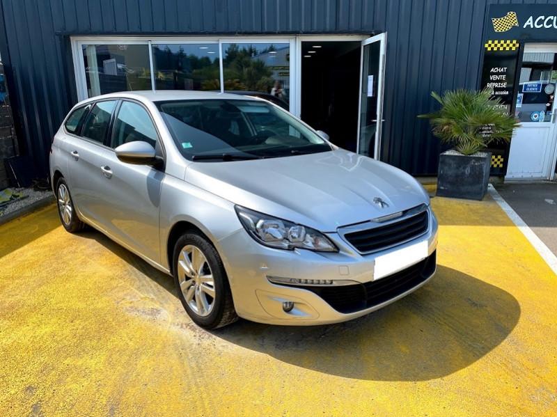 Peugeot 308 SW 1.6 BLUEHDI 120CH ACTIVE BUSINESS S&S Diesel GRIS Occasion à vendre