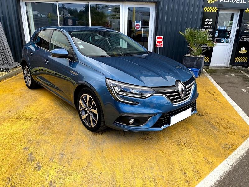 Renault MEGANE IV 1.5 DCI 110CH ENERGY INTENS Diesel BLEU F Occasion à vendre