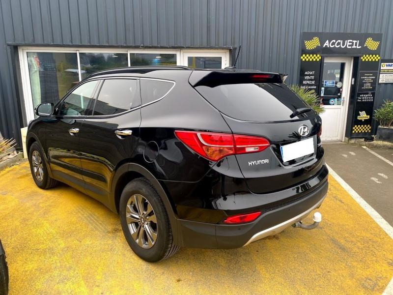 Photo 3 de l'offre de HYUNDAI SANTA FE 2.2 CRDI 197CH 4WD CREATIVE BVA à 21490€ chez Alliance automobile