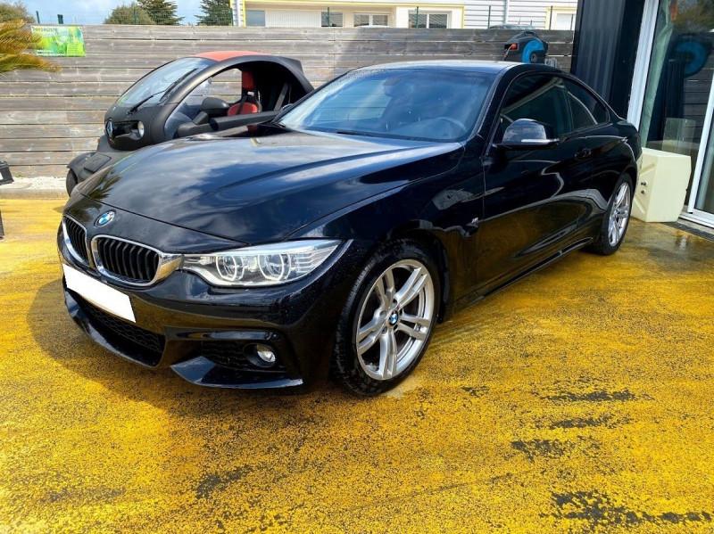 Photo 2 de l'offre de BMW SERIE 4 COUPE (F32) 420D 184CH M SPORT à 18990€ chez Alliance automobile