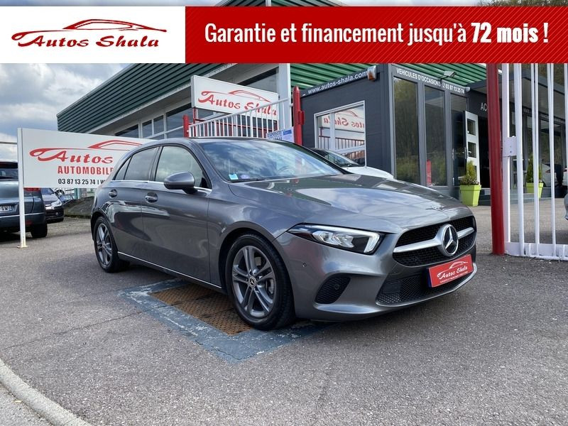 Mercedes-Benz CLASSE A (W177) 200 163CH BUSINESS LINE 7G-DCT Essence GRIS C Occasion à vendre
