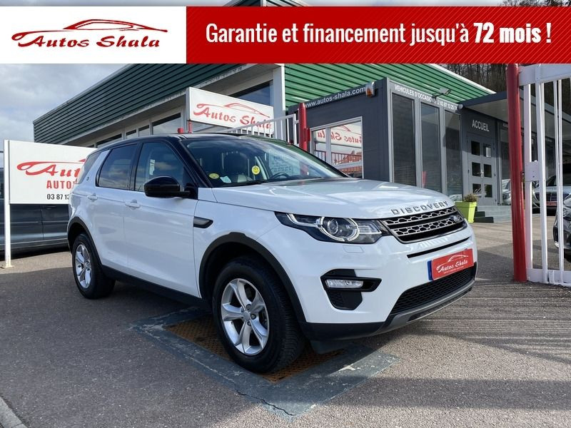 Land-Rover DISCOVERY 2.0 TD4 180CH HSE Diesel BLANC Occasion à vendre