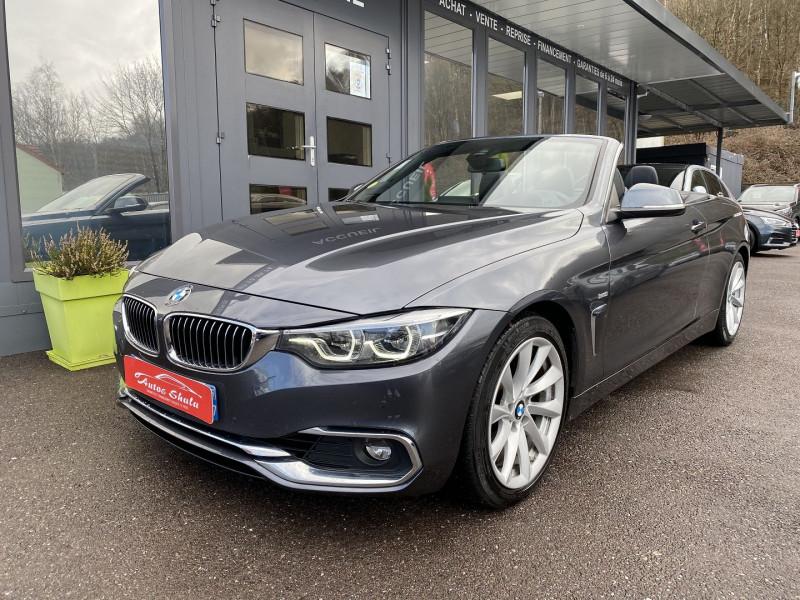Photo 8 de l'offre de BMW SERIE 4 CABRIOLET (F33) 430DA 258CH LUXURY à 35970€ chez Autos Shala