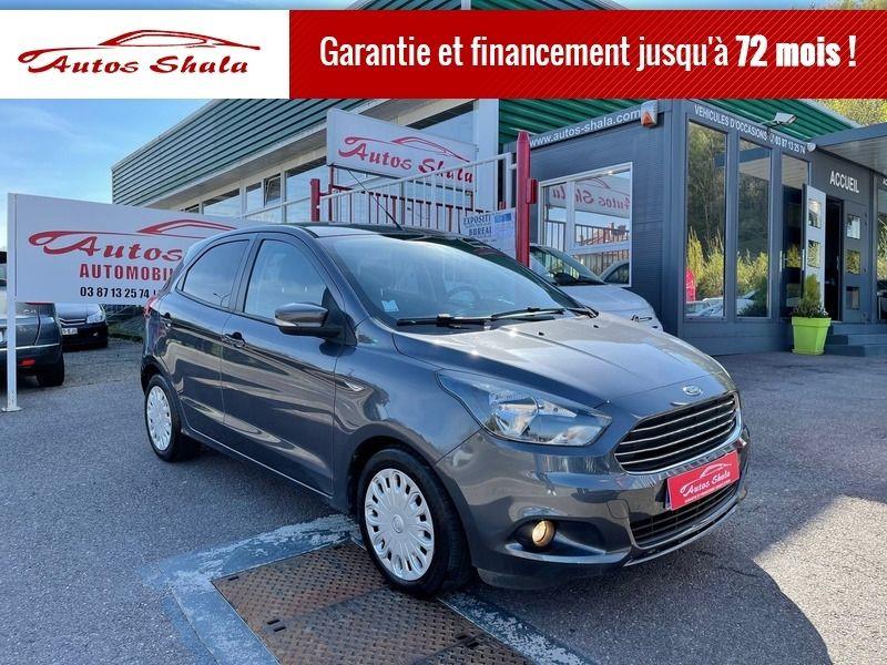 Ford KA+ 1.2 TI-VCT 85CH ULTIMATE Essence GRIS Occasion à vendre