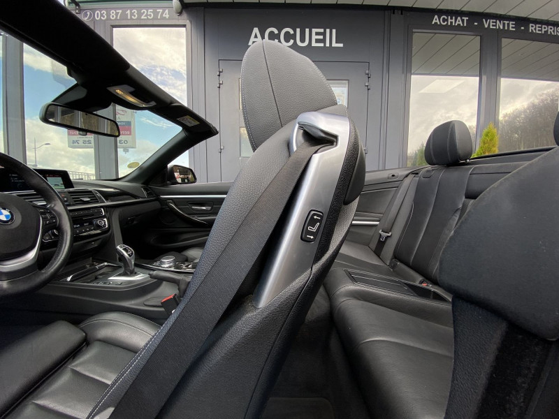 Photo 26 de l'offre de BMW SERIE 4 CABRIOLET (F33) 430DA 258CH LUXURY à 35970€ chez Autos Shala