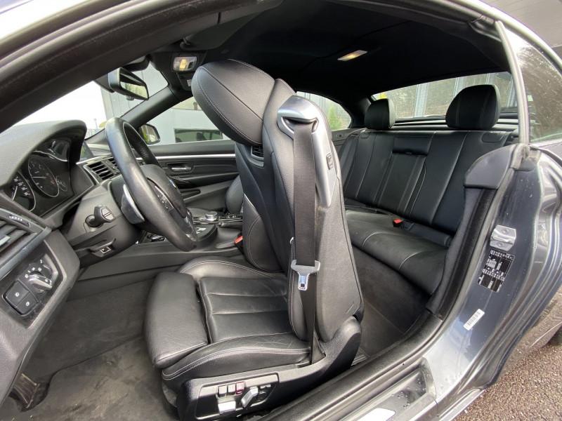 Photo 14 de l'offre de BMW SERIE 4 CABRIOLET (F33) 430DA 258CH LUXURY à 35970€ chez Autos Shala