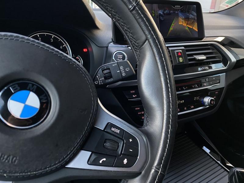 Photo 12 de l'offre de BMW X3 (G01) XDRIVE20DA 190CH XLINE EURO6C à 44970€ chez Autos Shala