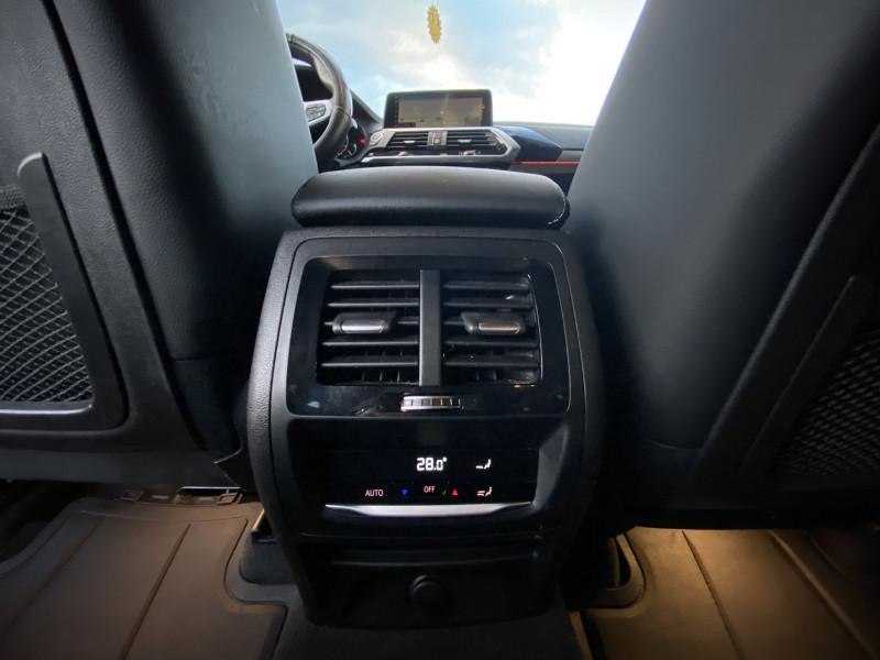 Photo 22 de l'offre de BMW X3 (G01) XDRIVE20DA 190CH XLINE EURO6C à 44970€ chez Autos Shala