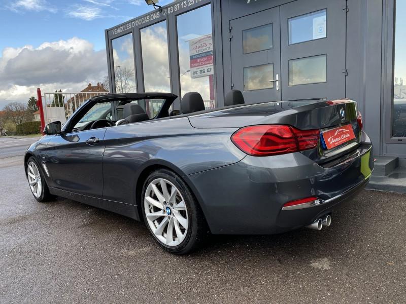 Photo 9 de l'offre de BMW SERIE 4 CABRIOLET (F33) 430DA 258CH LUXURY à 35970€ chez Autos Shala