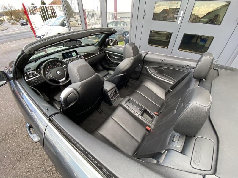 Photo 25 de l'offre de BMW SERIE 4 CABRIOLET (F33) 430DA 258CH LUXURY à 35970€ chez Autos Shala