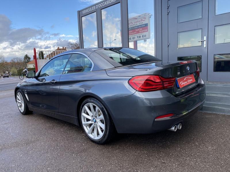 Photo 7 de l'offre de BMW SERIE 4 CABRIOLET (F33) 430DA 258CH LUXURY à 35970€ chez Autos Shala