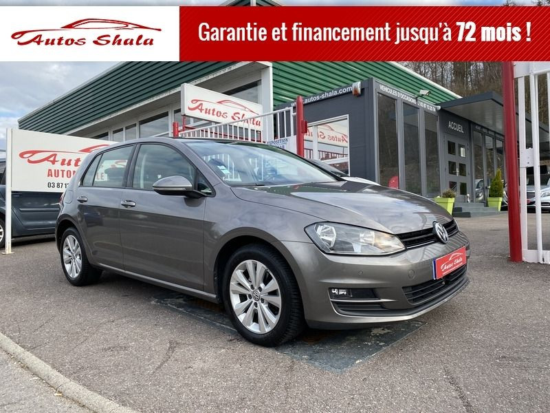 Volkswagen GOLF VII 2.0 TDI 150CH BLUEMOTION TECHNOLOGY FAP CONFORTLINE 5P Diesel GRIS F Occasion à vendre