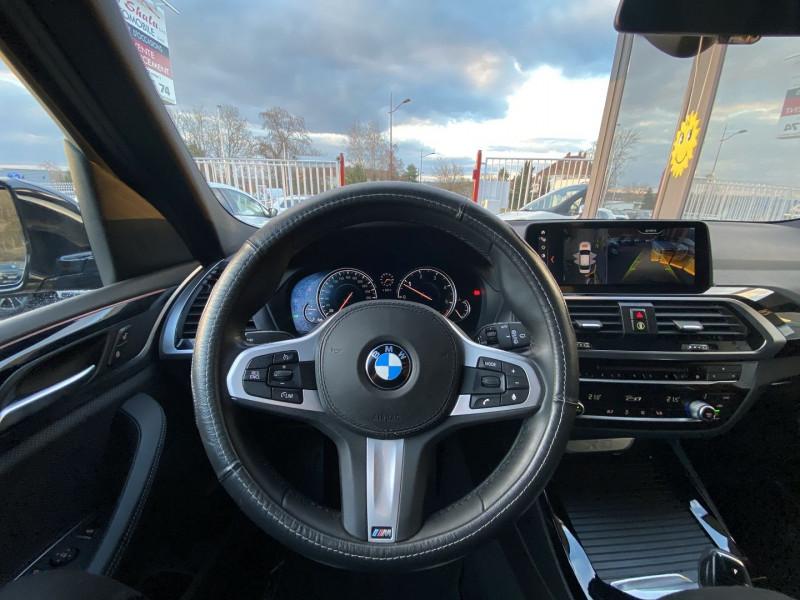 Photo 10 de l'offre de BMW X3 (G01) XDRIVE20DA 190CH XLINE EURO6C à 44970€ chez Autos Shala