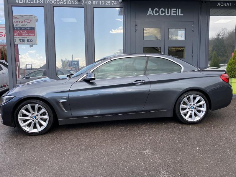 Photo 12 de l'offre de BMW SERIE 4 CABRIOLET (F33) 430DA 258CH LUXURY à 35970€ chez Autos Shala
