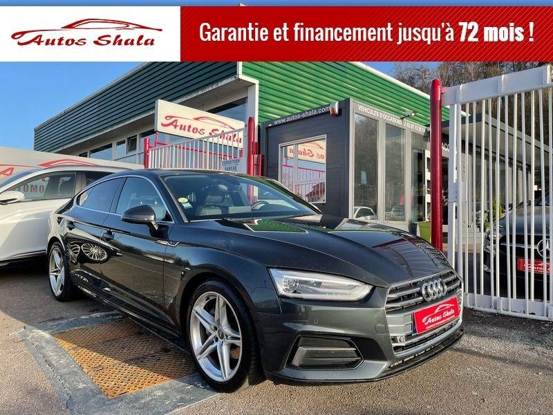 Audi A5 SPORTBACK 2.0 TDI 190CH ULTRA S LINE S TRONIC 7 Diesel GRIS F Occasion à vendre