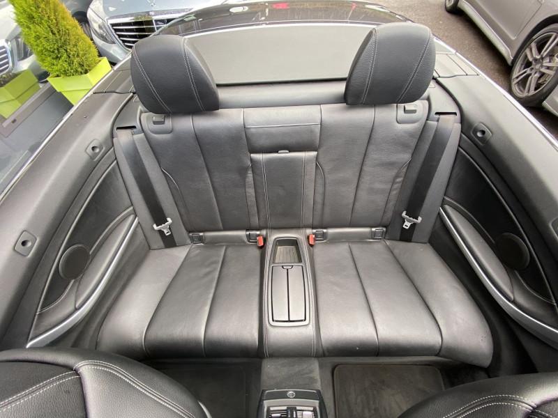 Photo 28 de l'offre de BMW SERIE 4 CABRIOLET (F33) 430DA 258CH LUXURY à 35970€ chez Autos Shala