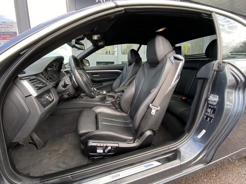 Photo 13 de l'offre de BMW SERIE 4 CABRIOLET (F33) 430DA 258CH LUXURY à 35970€ chez Autos Shala