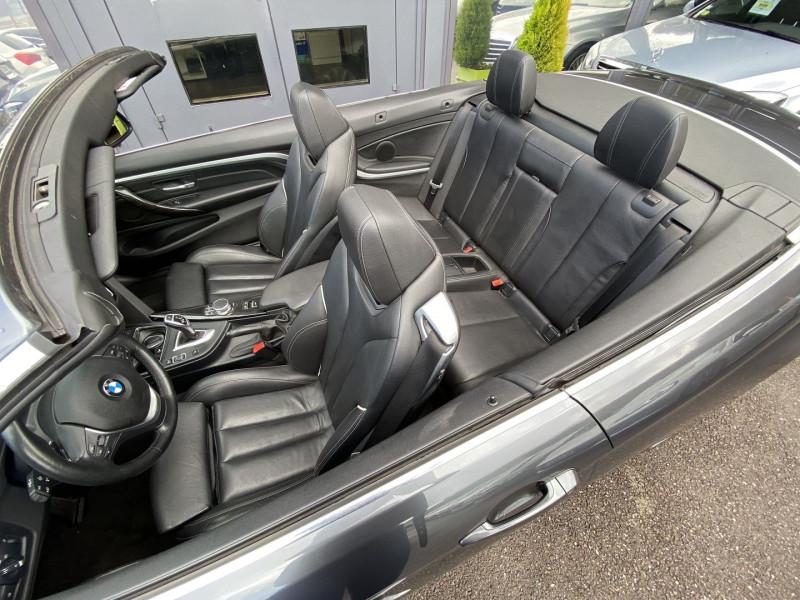 Photo 24 de l'offre de BMW SERIE 4 CABRIOLET (F33) 430DA 258CH LUXURY à 35970€ chez Autos Shala