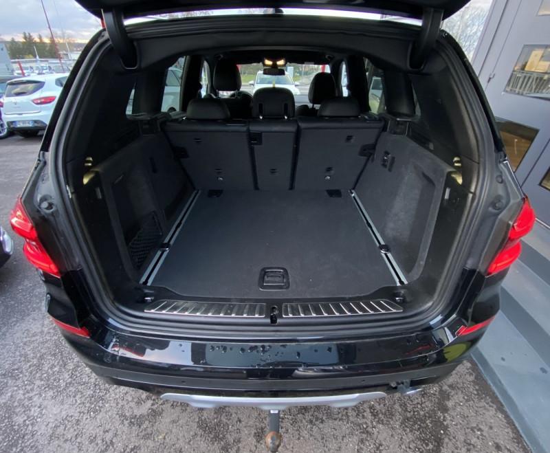 Photo 26 de l'offre de BMW X3 (G01) XDRIVE20DA 190CH XLINE EURO6C à 44970€ chez Autos Shala