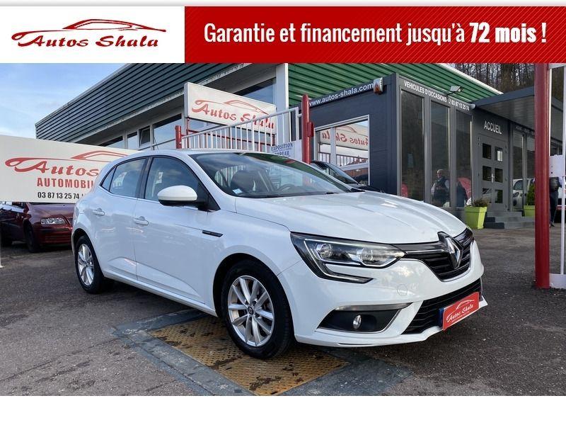 Renault MEGANE IV 1.5 DCI 110CH ENERGY ZEN Diesel BLANC Occasion à vendre