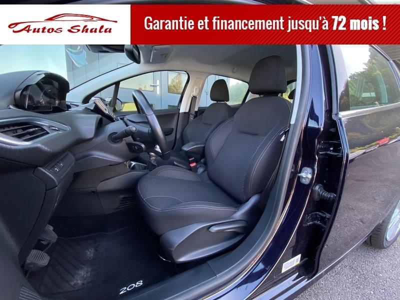 Photo 7 de l'offre de PEUGEOT 208 1.6 BLUEHDI 100CH ALLURE 5P à 11970€ chez Autos Shala