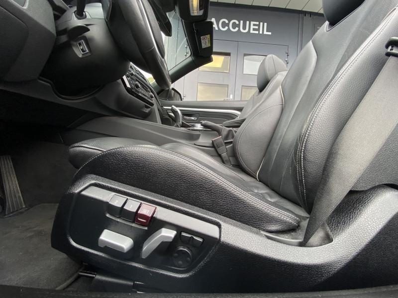 Photo 27 de l'offre de BMW SERIE 4 CABRIOLET (F33) 430DA 258CH LUXURY à 35970€ chez Autos Shala
