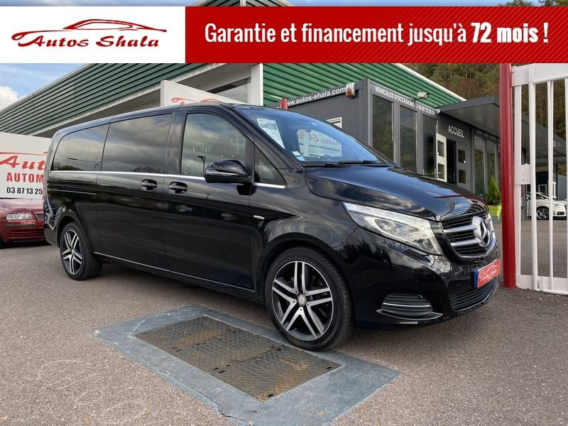 Photo 1 de l'offre de MERCEDES-BENZ CLASSE V 250 D EXTRA-LONG 4MATIC 7G-TRONIC PLUS à 47980€ chez Autos Shala