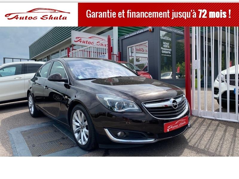 Opel INSIGNIA 1.6 CDTI 136CH COSMO PACK ECOFLEX START&STOP 5P Diesel MARRON Occasion à vendre