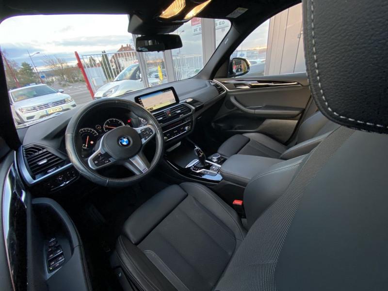 Photo 21 de l'offre de BMW X3 (G01) XDRIVE20DA 190CH XLINE EURO6C à 44970€ chez Autos Shala