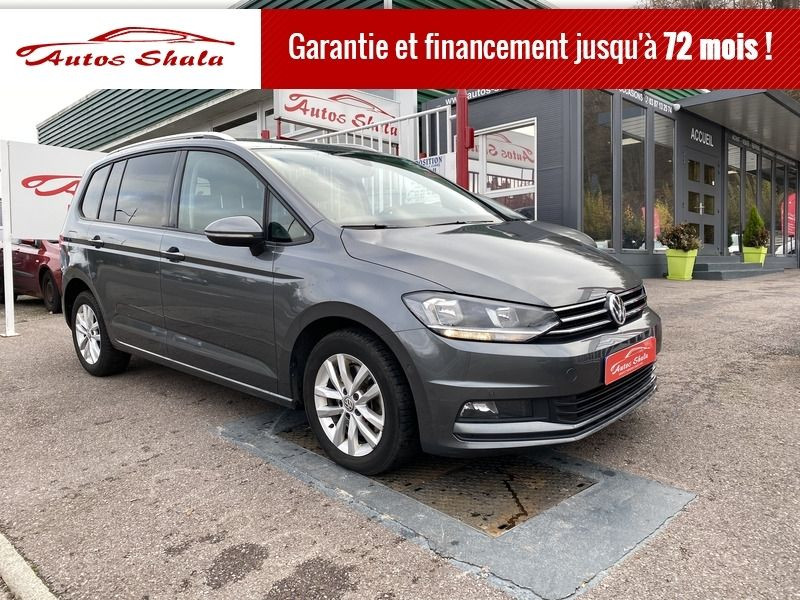 Volkswagen TOURAN 1.6 TDI 115CH BLUEMOTION TECHNOLOGY FAP CONFORTLINE DSG7 5 PLACES Diesel GRIS F Occasion à vendre