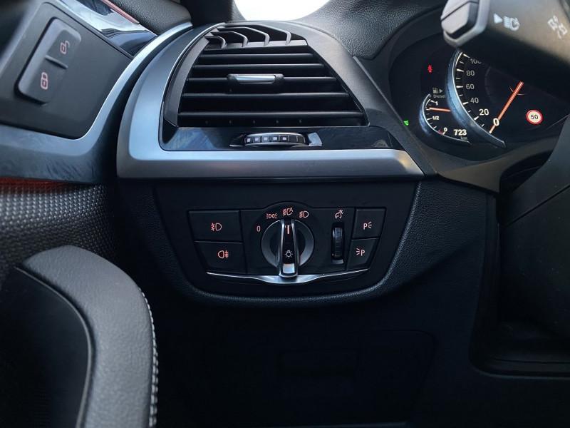 Photo 17 de l'offre de BMW X3 (G01) XDRIVE20DA 190CH XLINE EURO6C à 44970€ chez Autos Shala