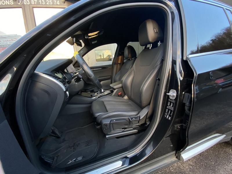 Photo 8 de l'offre de BMW X3 (G01) XDRIVE20DA 190CH XLINE EURO6C à 44970€ chez Autos Shala