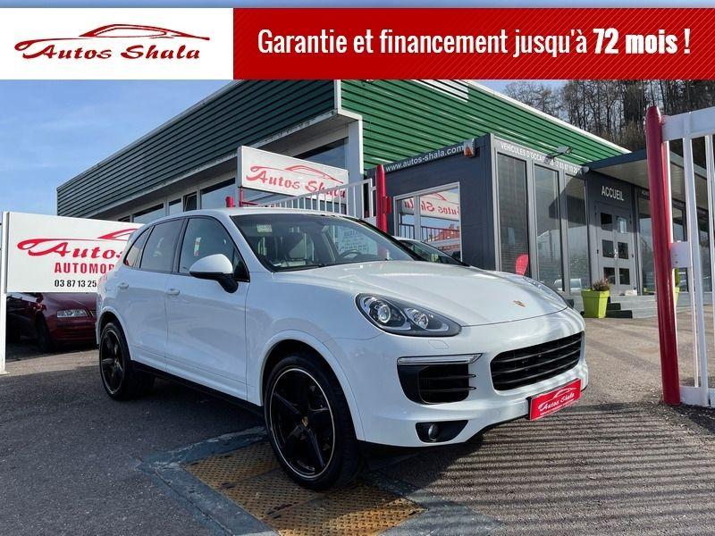 Porsche CAYENNE (958) 3.0 262CH DIESEL PLATINUM EDITION Diesel BLANC Occasion à vendre