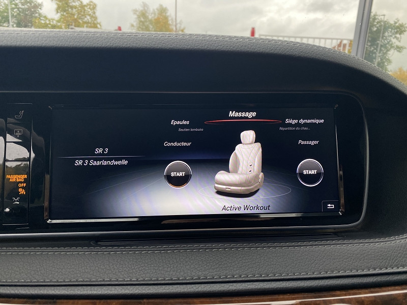 Photo 22 de l'offre de MERCEDES-BENZ S 350 D EXECUTIVE L 4MATIC 7G-TRONIC PLUS à 39970€ chez Autos Shala