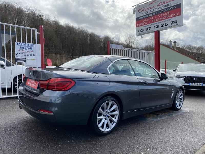 Photo 2 de l'offre de BMW SERIE 4 CABRIOLET (F33) 430DA 258CH LUXURY à 35970€ chez Autos Shala