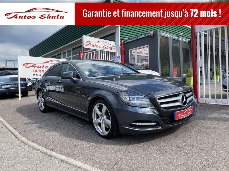 Mercedes-Benz CLASSE CLS (W218) 350 CDI Diesel GRIS Occasion à vendre
