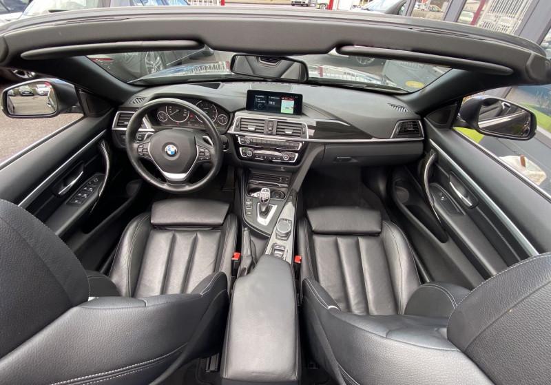 Photo 3 de l'offre de BMW SERIE 4 CABRIOLET (F33) 430DA 258CH LUXURY à 35970€ chez Autos Shala