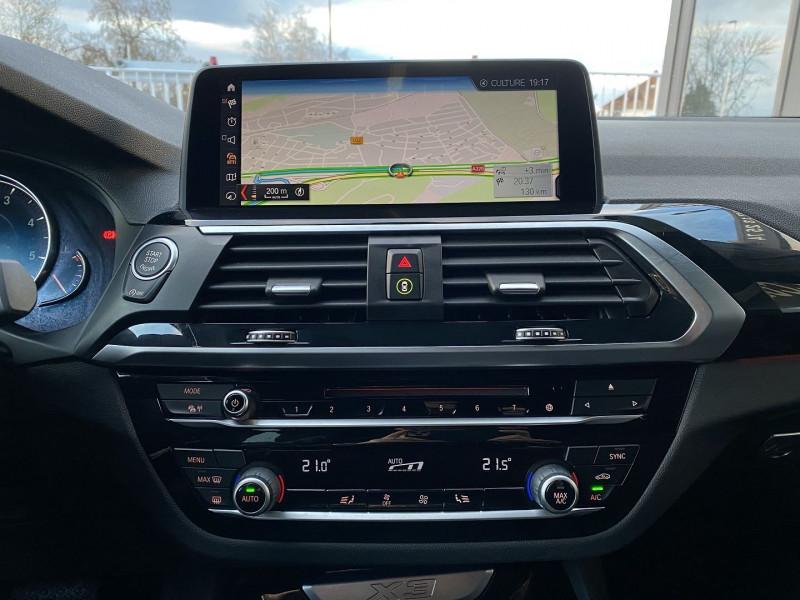 Photo 15 de l'offre de BMW X3 (G01) XDRIVE20DA 190CH XLINE EURO6C à 44970€ chez Autos Shala