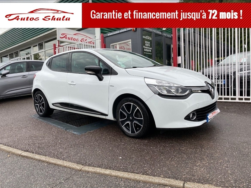 Renault CLIO IV 1.5 DCI 90CH ENERGY LIMITED EURO6 82G 2015 Diesel BLANC Occasion à vendre