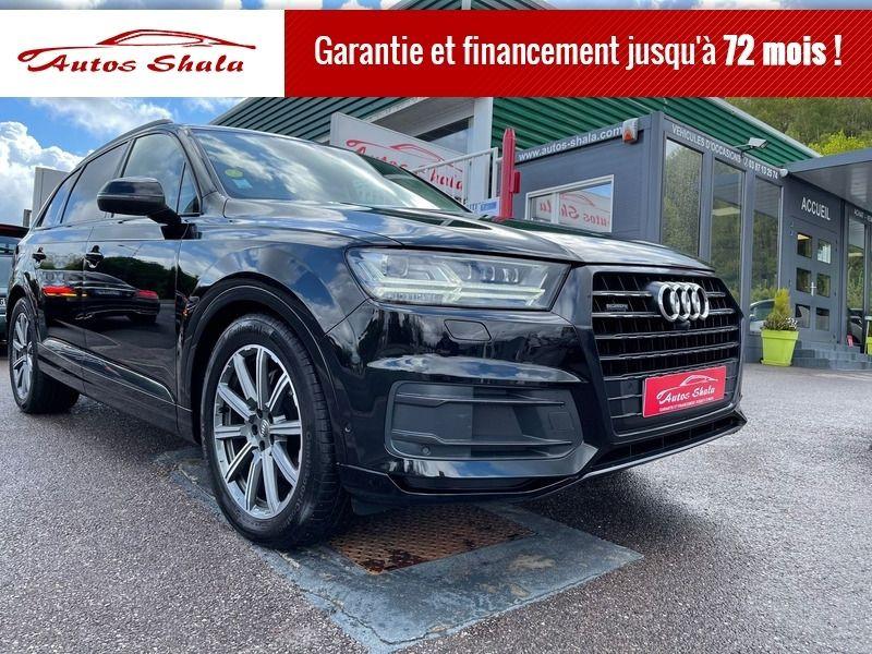 Audi Q7 50 TDI 286CH AVUS EXTENDED QUATTRO TIPTRONIC 5 PLACES Diesel NOIR Occasion à vendre