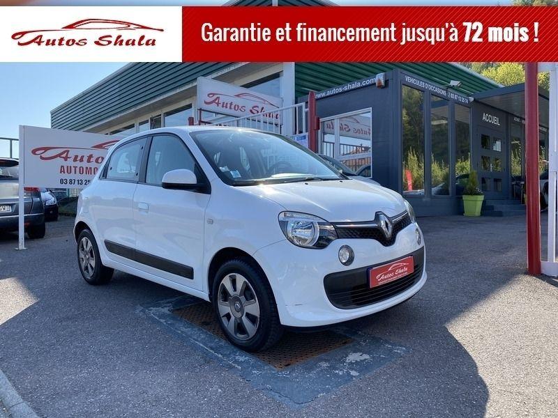 Renault TWINGO III 1.0 SCE 70CH ZEN Hybride BLANC Occasion à vendre